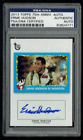 Ernie Hudson signed autograph auto 2013 Topps 75th Anniversary Card PSA Slabbed