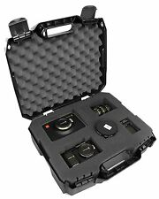 CASEMATIX RUGGED Video Equipment Hard Case Holds DSLR , Camcorder , Portable Aud