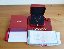 Cartier Diamants Legers de Cartier 18k Pink Rose gold diamond Pendant Necklace