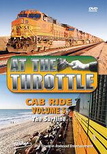 At the Throttle Cab Ride V5 The Surfline DVD NEW PENTREX Surfline BNSF Oceanside