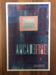 ARCADE FIRE 8/09/10 Ryman Auditorium HATCH SHOW PRINT Nashville Poster