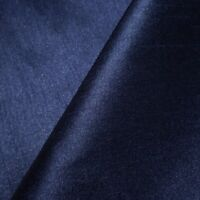 15 YARD LOT NAVY BLUE FAUX SILK DUPIONI FABRIC TWO TONE MIDNIGHT BLUE 58""