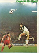 223 MONCHENGLADBACH Vs CRVENA ZVEZDA UEFA CUP STICKER FOOTBALL 1980 BENJAMIN NEW
