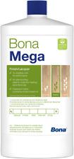 Bona Mega Waterborne 1-Component Finish Lacquer Topcoat for Wood Floor - 1L