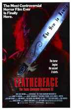 Leatherface Texas Chainsaw Massacre 3 Poster 01 A2 Box Canvas Print
