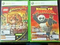 Kung FU Panda & Lego Indiana Jones for Xbox 360