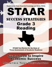 Staar Success Strategies Grade 3 Reading Study Guide: Staar Test Review for the