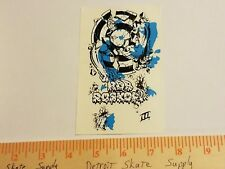 VTG 80's SANTA CRUZ ROB ROSKOPP BEAST III 3 MISPRINT NOS SKATEBOARD DECK STICKER