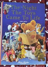 The Night The Toys Came To Life Oversized Book (1988) - Australian Edition Rare