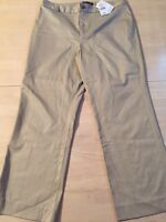 Banana Republic Women's Pants Stretch Beige Khaki Crop Size 10 New! $69