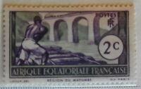 French Equatorial Africa 1937-40 Stamp 2c MNH Stamp StampBook1-56