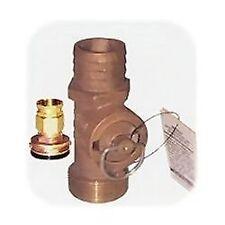 "New Flush Thru Hull Fittings groco Fth750w Pipe 3//4/"" Length 2.31/"""