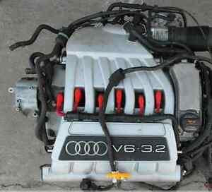 Audi A3 3.2 V6 Quattro 250 HP 184 Kw Petrol Motor Moteur Engine Motors Bdb