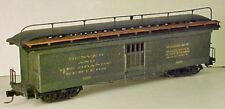 HOn3 D&RGWNG #127 Railway Express Baggage Car, laser cut wood kit MRGS #3127