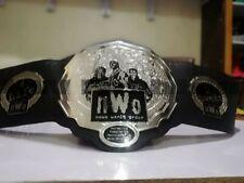 NWO New World Order Wrestling Championship Adult Size Belt 2mm Plates
