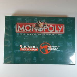 Bunnings Warehouse Monopoly 2007 Edition Brand New Sealed