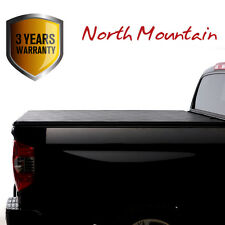 Black Soft Roll-Up Tonneau Cover Fit 04-14 F150 06-08 Mark LT 6.5' Styleside Bed