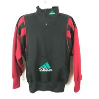 VTG Adidas Equipment Pullover Sweatshirt Jacket 90s Colorblock Size Medium
