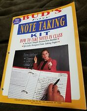 BUD'S EASY NOTE TAKING KIT - How to Take Notes in Class