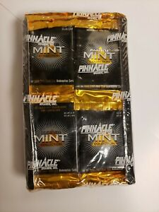 1996 Pinnacle Mint NFL Football Factory Sealed box,  Solid Silver?