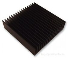 Dissipateur de chaleur, carré, PCB, Extrudé, DEL, 1.75 ° C/W, 25 mm, 100 mm, 100 mm