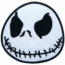 Jack Skellington Nightmare Before Christmas Ghost Cartoon Iron on Patches #1072