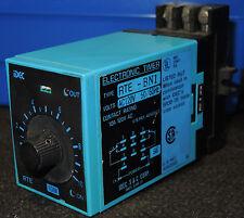 IDEC S&C Corp Type RTE-BN1 Electronic Timer 120 VAC 10 Amp