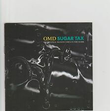 OMD- Sugar Tax UK cd album