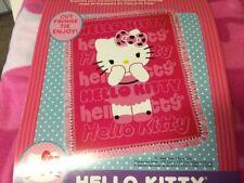 Hello Kitty  No Sew Fleece Throw Kit New