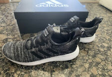 NEW Men's Adidas Lite Racer Athletic Running Shoe Black Grey Pick Sizes 8.5-11