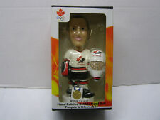 MARTIN BRODEUR TEAM CANADA OLYMPIC HAND PAINTED BOBBLEHEAD 2002 GOLD MEDAL RARE