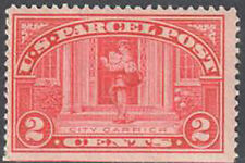 Sc#Q2 - 2c Parcel Post Single Mnh (Q2-2)