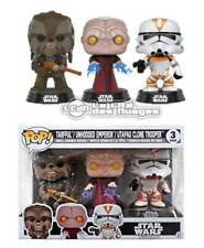 Star Wars POP! Tarfful Unhooded Emperor Utapau Clone Trooper 3-Pack NYCC-2017