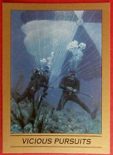 JAMES BOND - Thunderball - Base Card #102 - VICIOUS PURSUITS - Eclipse 1993