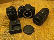 Canon EOS Rebel T6 Digital Camera w/ Stuff - DS126621  (Lot 3611)