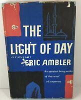 The Light of Day by Eric Ambler Vintage Hardcover Mystery Book