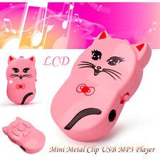 Mini Metal Acortar USB Reproductores de MP3 Player Apoyo 32GB Micro SD TF Tarjet