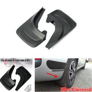 2x ABS Plastic Car Mud Flaps Mud Guards Splash Flares Trim Moulding Accessories