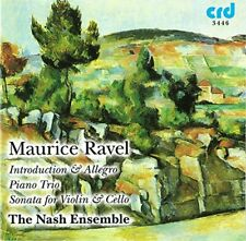 The Nash Ensemble - Ravel: Introduction and Allegro, Sonata for [CD]