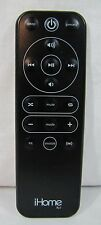 iHome Rz1 Genuine Audio System Remote Control For IP49, IP90, Guaranteed To Work