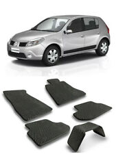 EVA Car Floor Mats Heavy Duty All Weather Odorless For Renault Sandero I 09-14
