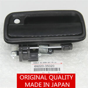 Front Left Driver Side Exterior Door Handle Black fit for 95-04 Toyota Tacoma