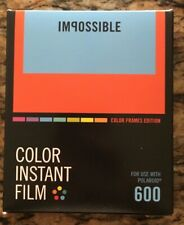 Impossible Project Color Frames Edition 600 Polaroid film