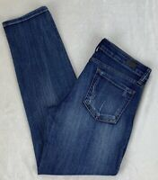 Kut From The Kloth Catherine Boyfriend Jeans Distressed Destroyed Stretch Size 8