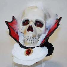 08-79329 Vampire Skull LED Tabletop Male Vampire Imports Halloween Katherines
