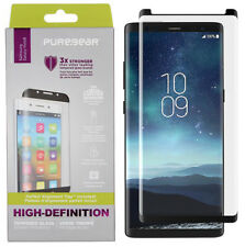 PureGear PureTek 9H Tempered Glass Screen Protector with Tray for Galaxy Note 8