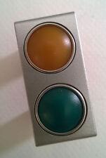 BTicino light Tech n4372av conversores fluorescentes verde-naranja-indication Light