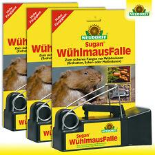 Neudorff Sugan® 3 Stück WühlmausFalle