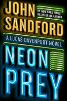 Neon Prey  by John Sandford Hardcover book FREE USA SHIPPING