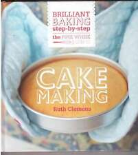 Brilliant baking step by step pink whisk Cake making Ruth Clemens home cooking